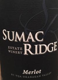 Sumac Ridge Merlot Private Reservetext