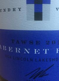 Tawse Laundry Vineyard Cabernet Franctext