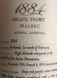 Escorihuela 1884 Estate Grown Malbectext
