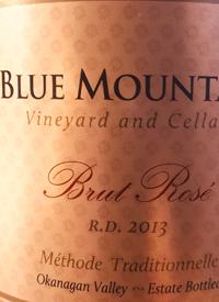 Blue Mountain Brut Rosé R.D. Méthode Traditionelletext