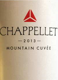 Chappellet Mountain Cuveetext