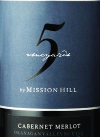 Mission Hill Five Vineyards Cabernet Merlottext