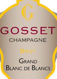 Champagne Gosset Blanc de Blancs Bruttext