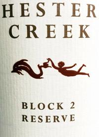Hester Creek Block 2 Reserve Merlottext