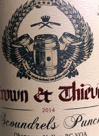 Jason Parkes Customs Crown + Thieves Scoundrels Punchtext