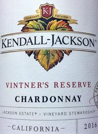Kendall-Jackson Chardonnay Vintner's Reserve