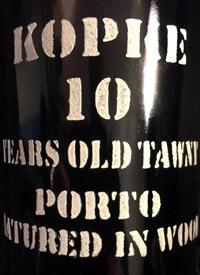 Kopke Ten Years Old Tawnytext