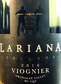 Lariana Cellars Viogniertext