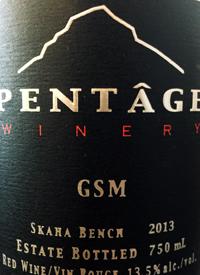 Pentâge Winery GSM