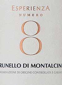 Rocca delle Macie Brunello di Montalcino Esperienza No. 8text