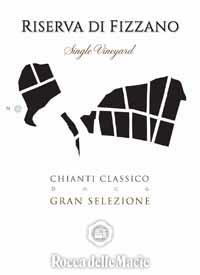 Rocca delle Macie Riserva di Fizzano Chianti Classico Gran Selezionetext