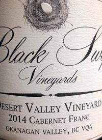 Black Swift Vineyards Cabernet Franc Desert Valley Vineyardstext