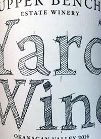 Upper Bench Yard Winetext