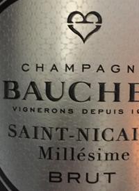 Champagne Bauchet Saint-Nicaise Blanc de Blancs Millesime Bruttext