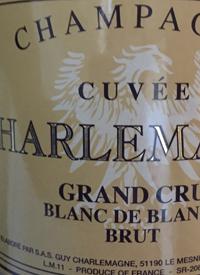 Champagne Cuvée Charlemagne Grand Cru Blanc de Blancstext