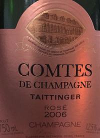 Taittinger Comtes de Champagne Rosétext