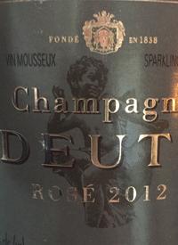 Champagne Deutz Rosétext