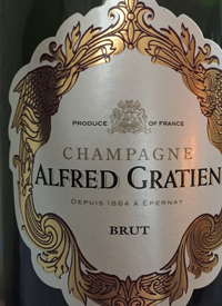 Champagne Alfred Gratien Bruttext
