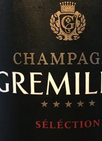 Champagne Gremillet Brut Selectiontext