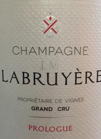 Champagne JM Labruyere Prologue Brut NVtext