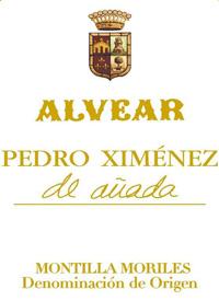 Alvear Pedro Ximénez de Anada