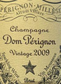 Champagne Dom Pérignon Bruttext