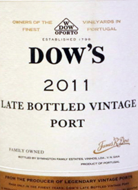 Dow's Late Bottled Vintage Porttext