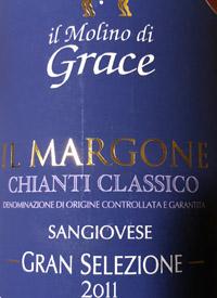Il Molino di Grace Il Margone Chianti Classico Gran Selezionetext
