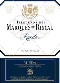 Marqués de Riscal Rueda Blanco