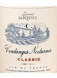 Laurent Miquel Vendanges Nocturnes Classic Whitetext