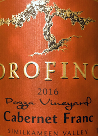 Orofino Vineyards Cabernet Franc Pozza Vineyardtext