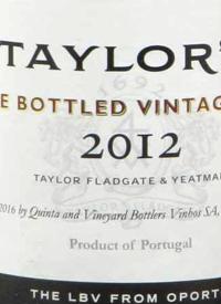 Taylor Fladgate Late Bottled Vintage Porttext