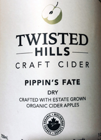 Twisted Hills Craft Cider Pipin's Fate Drytext