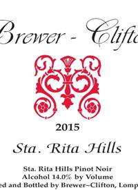 Brewer-Clifton Santa Rita Hills Pinot Noir