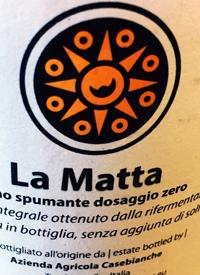Casebianchi La Matta Vino Spumante Blanco Dossagio Zero Fiano