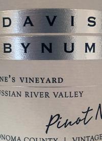 Davis Bynum Pinot Noir Jane's Vineyardtext