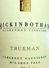 Hickinbotham Clarendon Vineyard Trueman Cabernet Sauvignontext