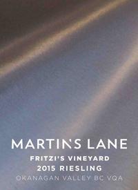 Martin's Lane Fritzi's Vineyard Rieslingtext