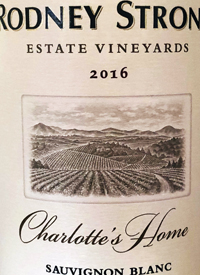 Rodney Strong Sauvignon Blanc Charlotte's Hometext