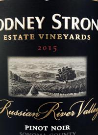 Rodney Strong Russian River Pinot Noir Estate Vineyardstext