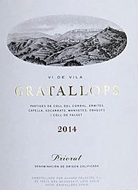 Alvaro Palacios Vi de Vila Gratallopstext