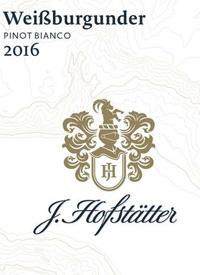 J. Hofstatter Weissburgunder Pinot Biancotext