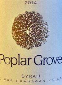 Poplar Grove Syrahtext