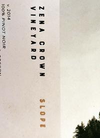 Zena Crown Slope Pinot Noirtext