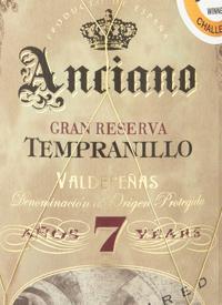 Anciano Gran Reserva Tempranillo Aged 7 Yearstext