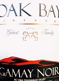 Oak Bay Vineyard Gamay Noirtext