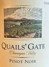 Quails' Gate Pinot Noirtext