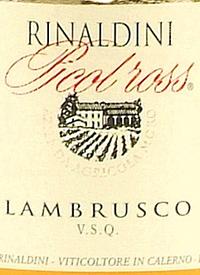 Rinaldini Picol Ross Lambrusco Brut