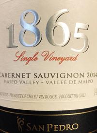 San Pedro 1865 Single Vineyard Cabernet Sauvignontext