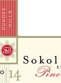Sokol Blosser Pinot Noir Estate Cuveetext